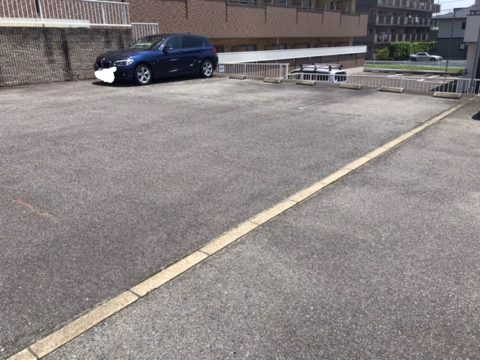 駐車場ライン工事