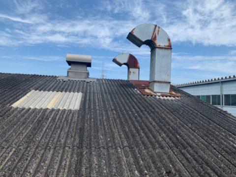 刈谷市某工場 屋根遮熱塗装工事