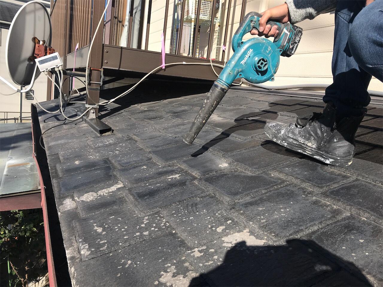 愛知県尾張旭市某所 屋根塗装工事