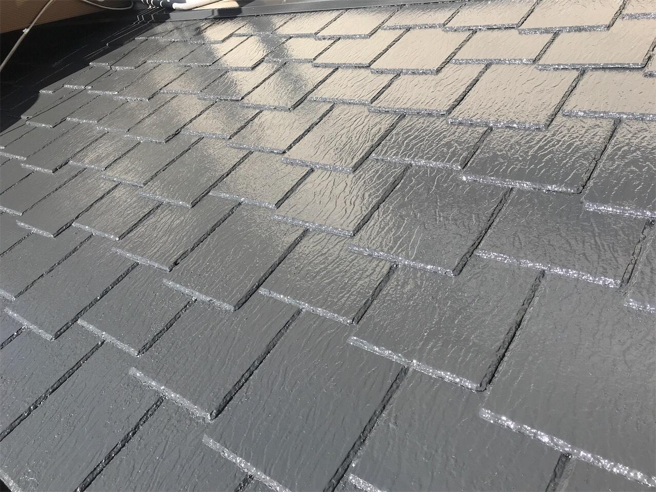 尾張旭市N様邸 屋根塗装工事
